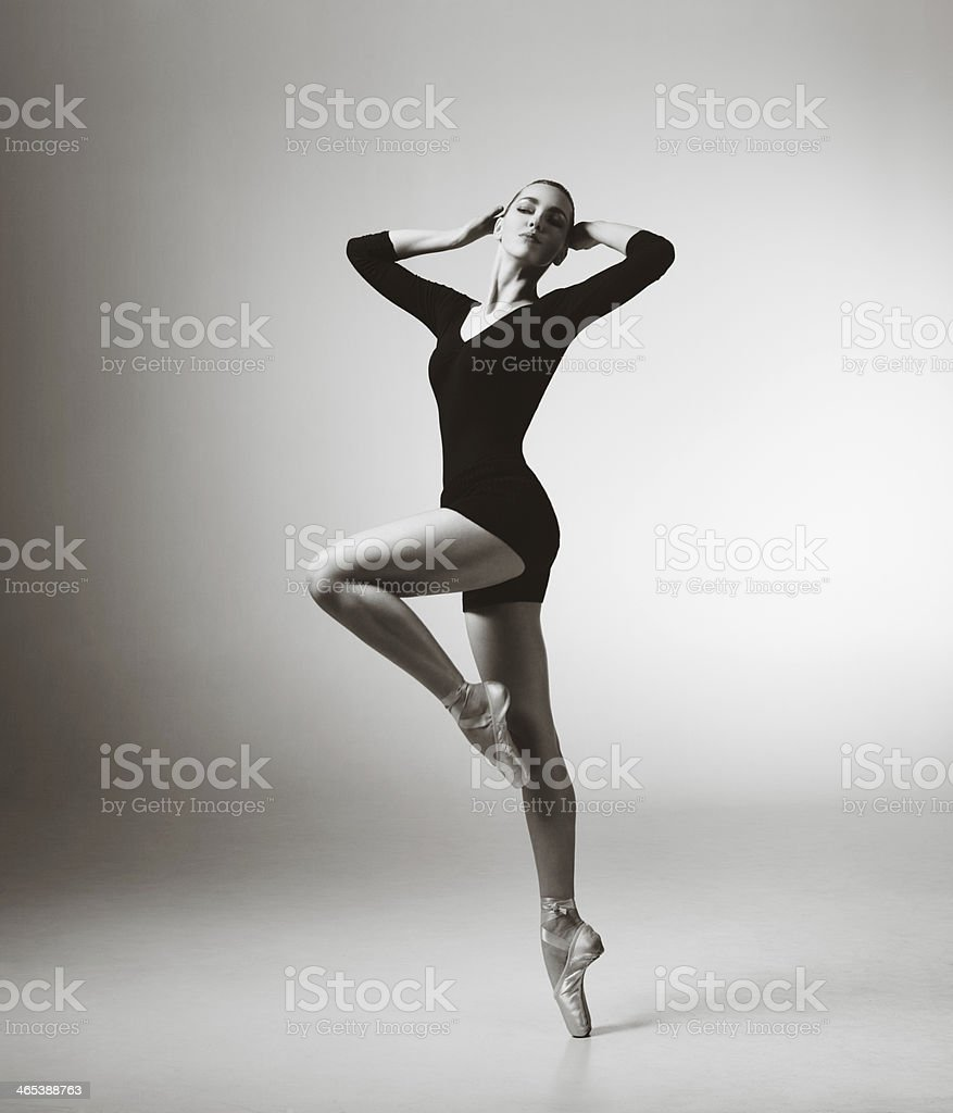 Modern dancer stock photo