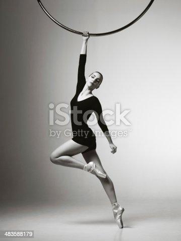 istock Modern dancer 483588179