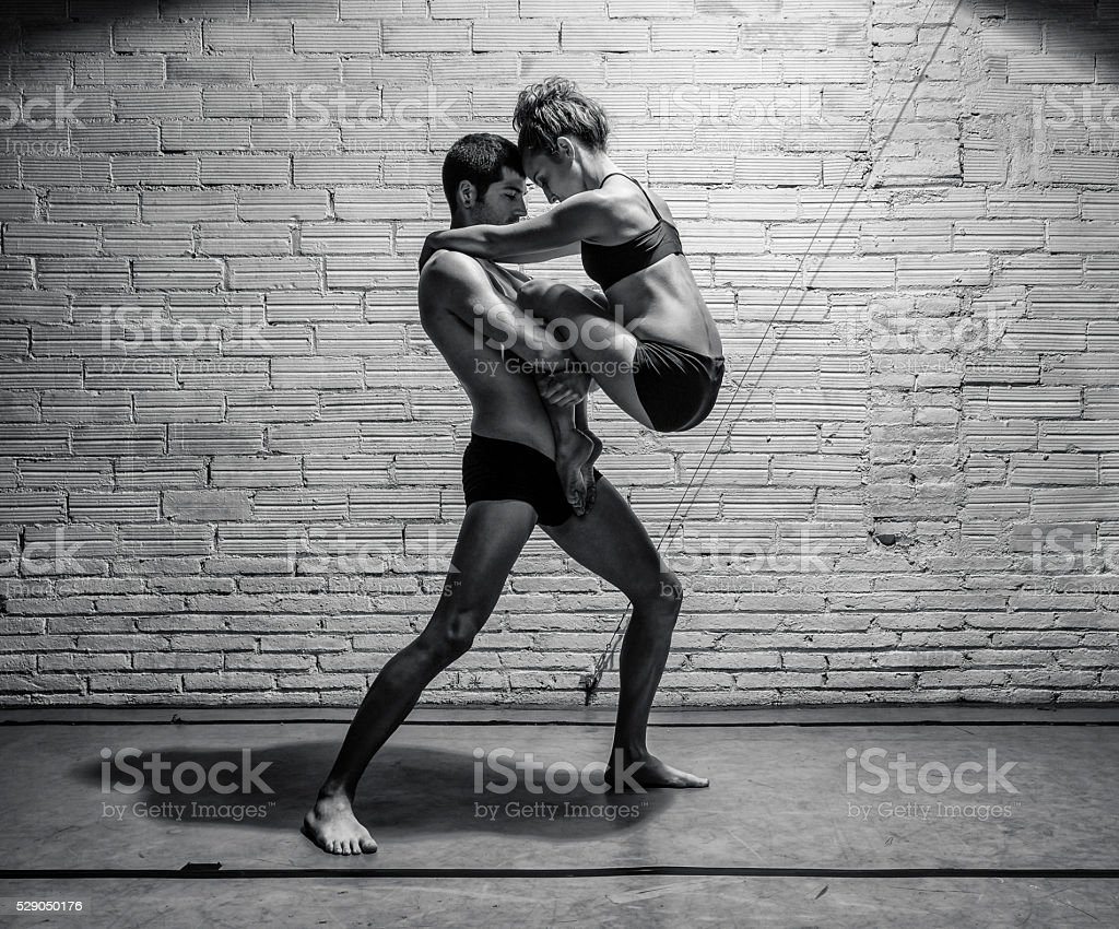 Modern dancer stock photo