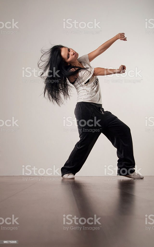 Modern Dancer royalty-free stock photo