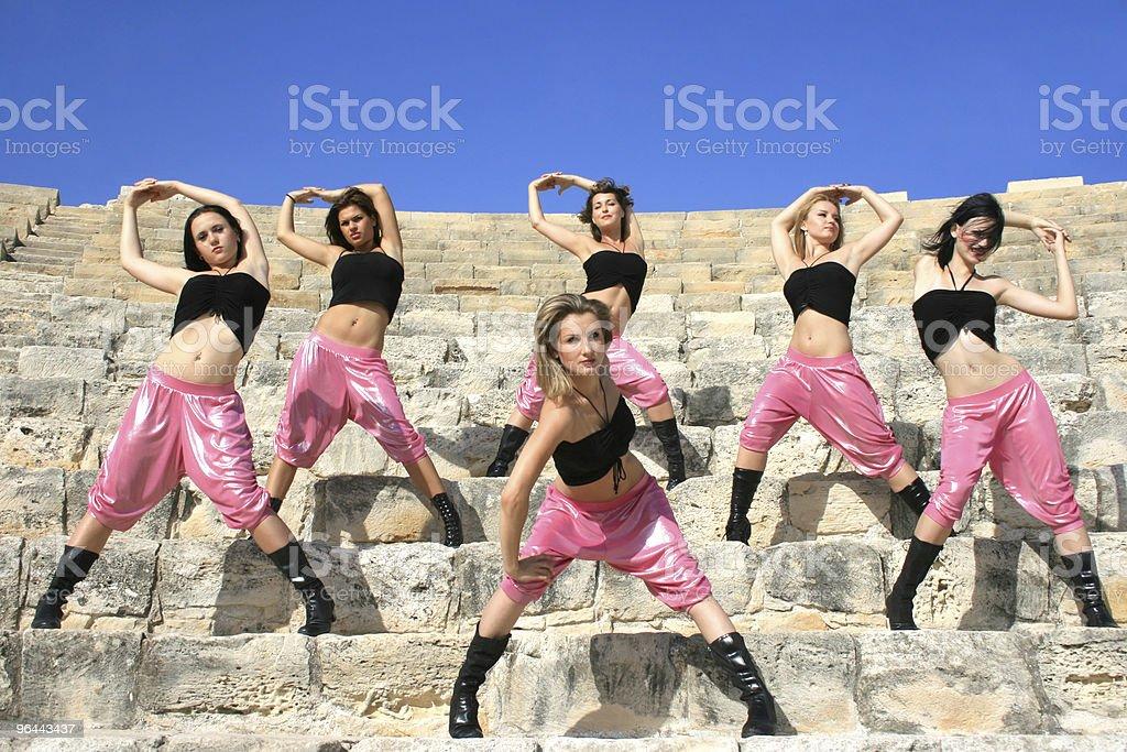 Dançarinos moderna - Foto de stock de Adulto royalty-free