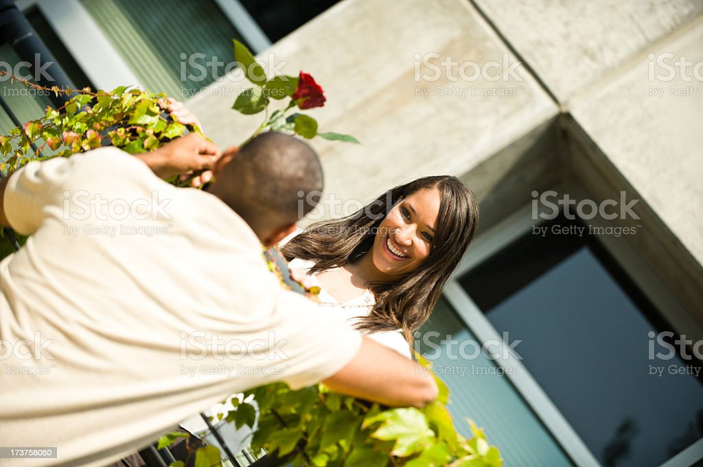 Modern Day Juliet royalty-free stock photo