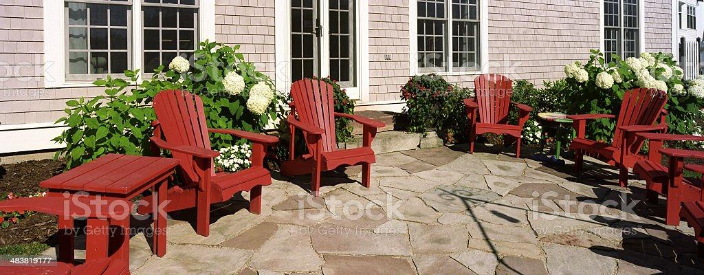 Modern Deck royalty-free stock photo