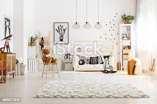 istock Modern decor of room 695527916