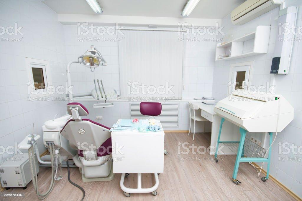 Photo Libre De Droit De Cabinet Dentaire Moderne Fauteuil Dentaire