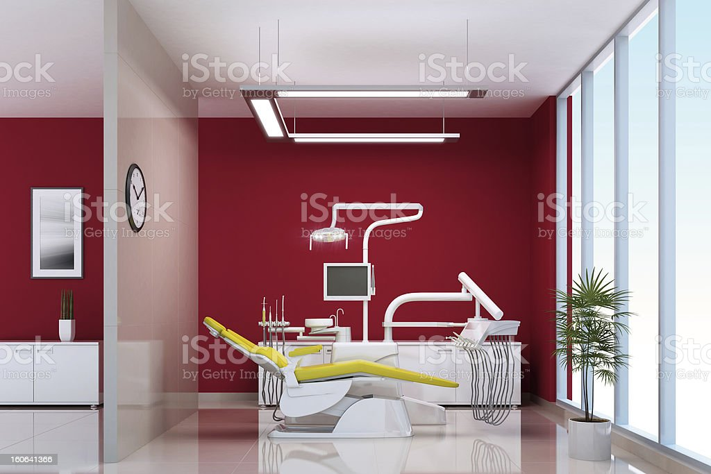 Modern Dental Office royalty-free stock photo