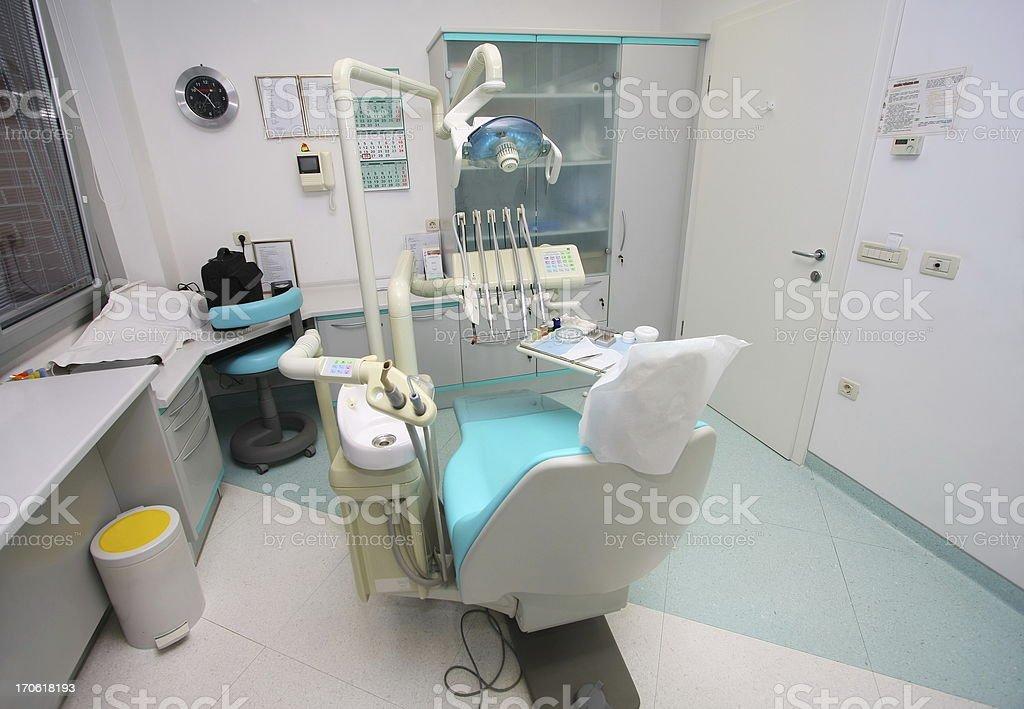 Modern dentist office royalty-free stock photo