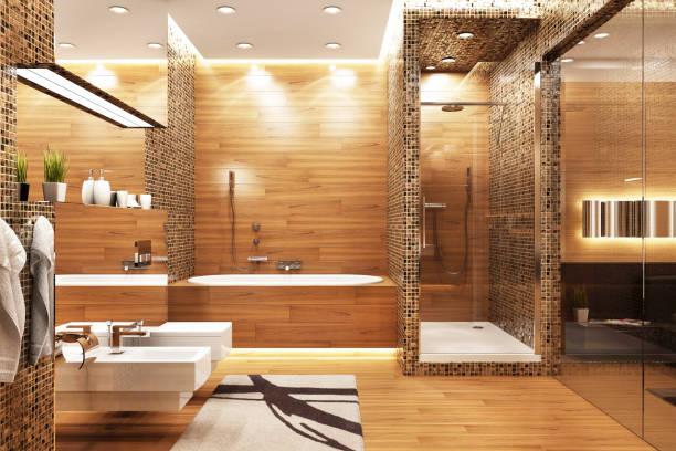 현대적인 디자인 욕실 - 욕실 뉴스 사진 이미지