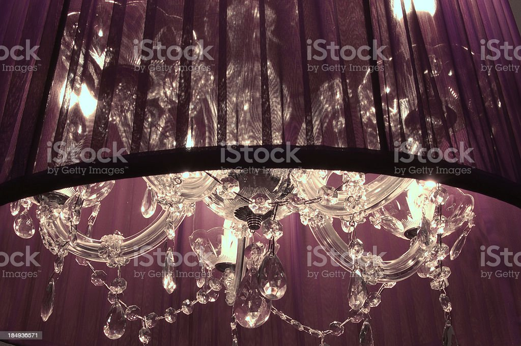 Modern design chandelier royalty-free stock photo