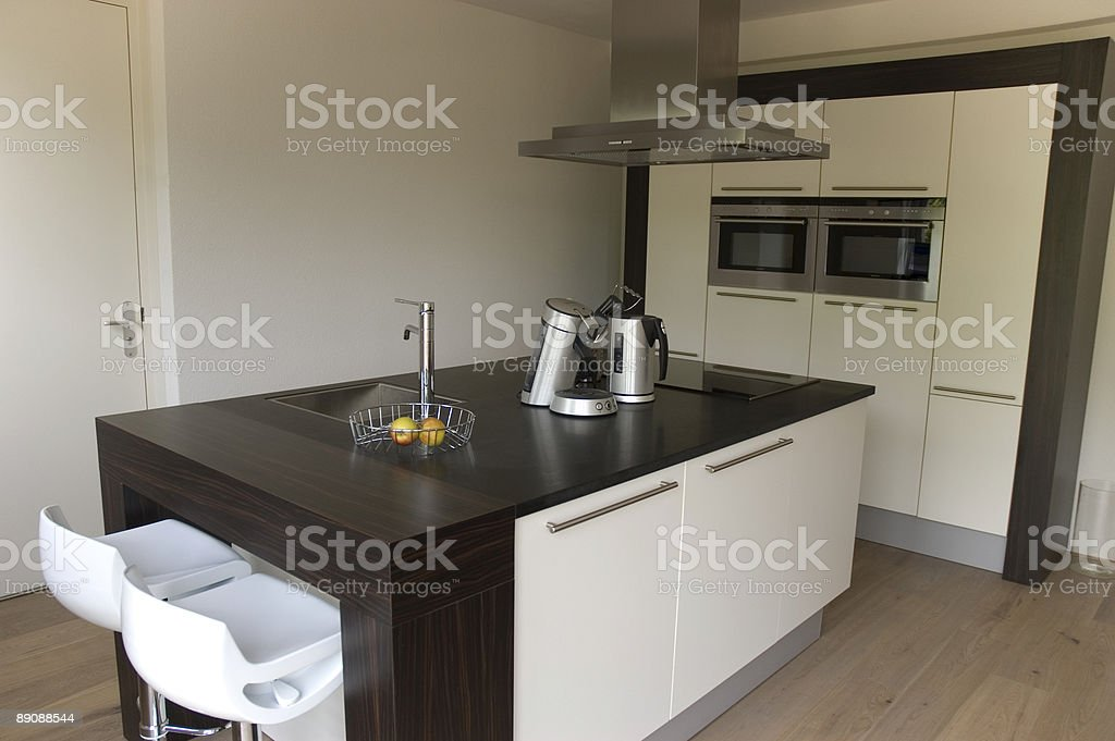 Modern design kitchen royalty-free stock photo