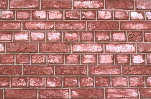 Red brick wall background theme.