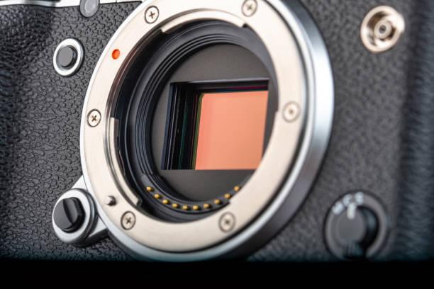 Moderner Digitalkamera-Sensor – Foto