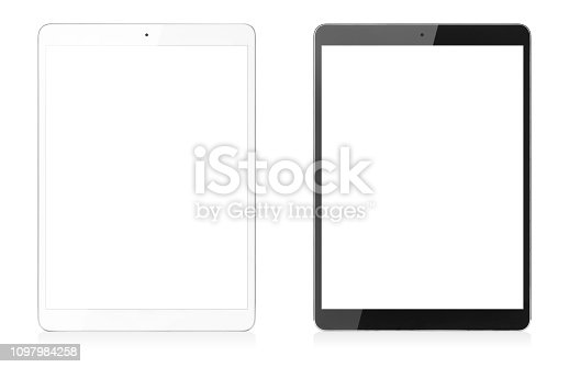 Digital Tablet Isolated on White