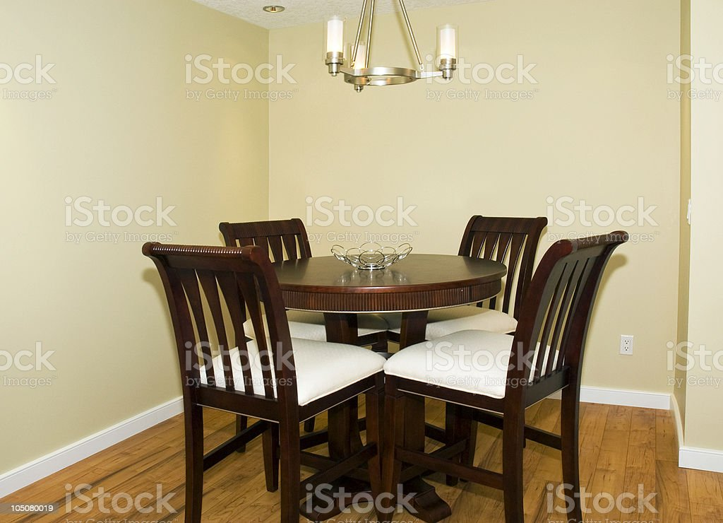Modern Dining Room Suite royalty-free stock photo