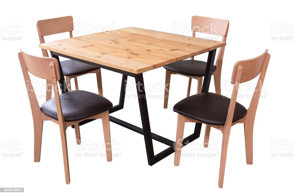 Picture of: Modern Dining Table Set Stock Photo Download Image Now Istock