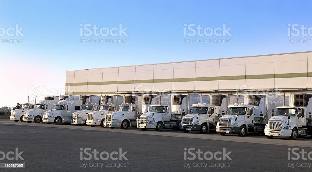 Modern distribution center royalty-free stock photo