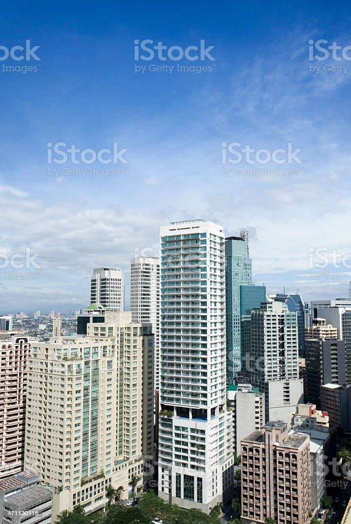 Modern district royalty-free stock photo