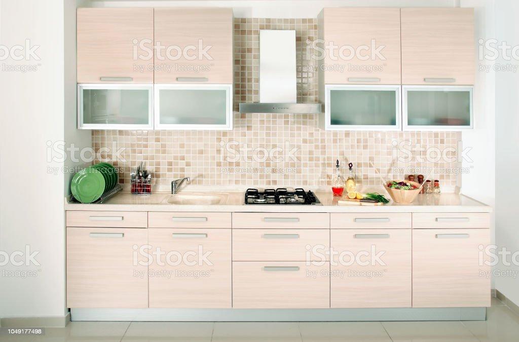 Moderne Kuchendesign Stockfoto Und Mehr Bilder Von Abluftventilator Istock