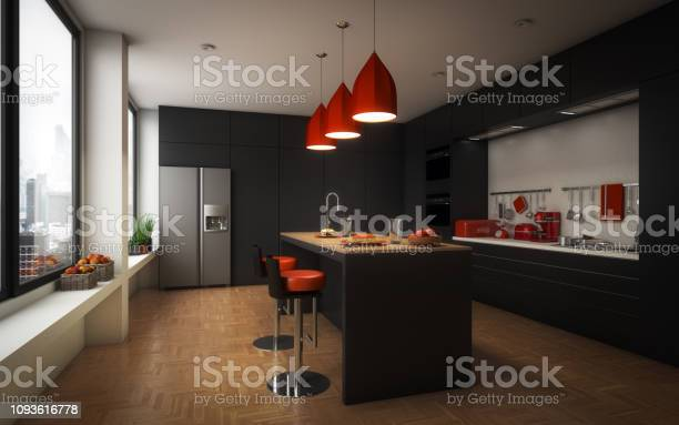 Modern domestic kitchen picture id1093616778?b=1&k=6&m=1093616778&s=612x612&h=g76fwi0uzysb nziqbyrcmv1gyri8s86notirztsplu=