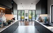 istock Modern Domestic Kitchen 1304097794
