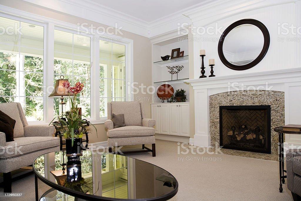 Modern Domestic Living Room Interior Architecture Design ...