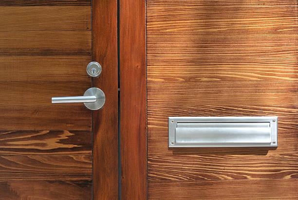 moderno porta, savannah, georgia - maçaneta manivela - fotografias e filmes do acervo