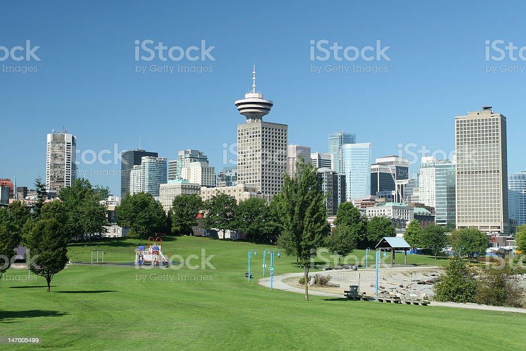 Modern Downtown Core stock photo