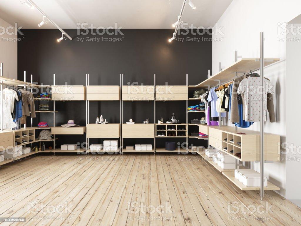 Moderne Garderobe – Foto