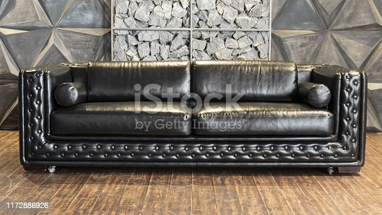 istock modern drum, rehearsal room, chesterfield sofa, drum set, sofa seat, bright spotlight 1172886926