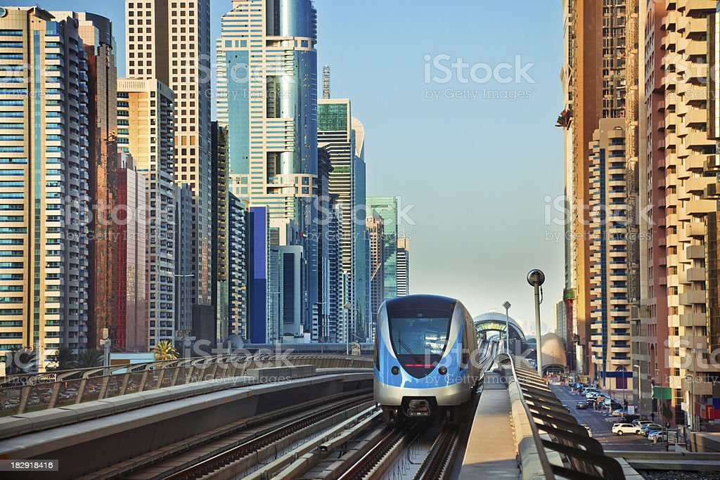 modern Dubai royalty-free stock photo