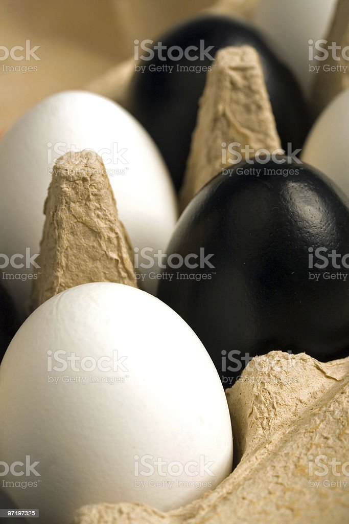 modern easter decoration royalty-free stock photo