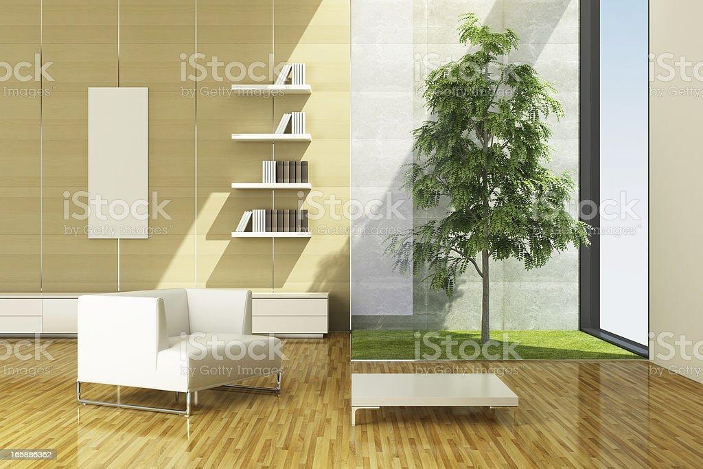 Modern Eco House royalty-free stock photo