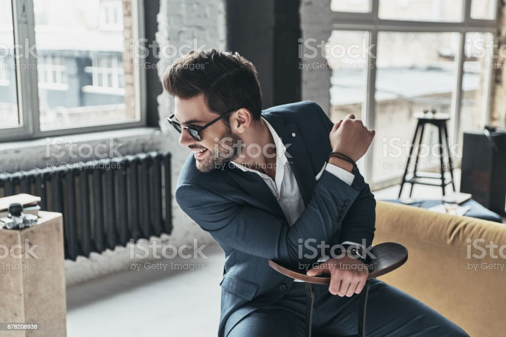 Modern elegance. stock photo