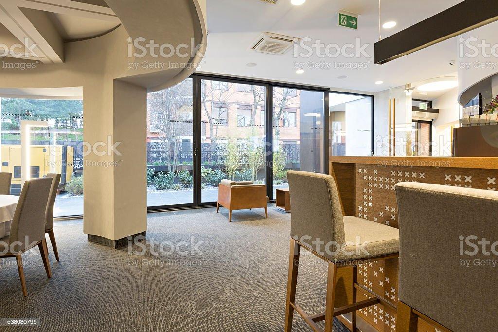 Moderne Elegante Café Innen Stockfoto und mehr Bilder von ...