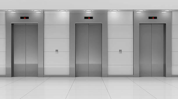 Moderne Aufzug Saal innen – Foto