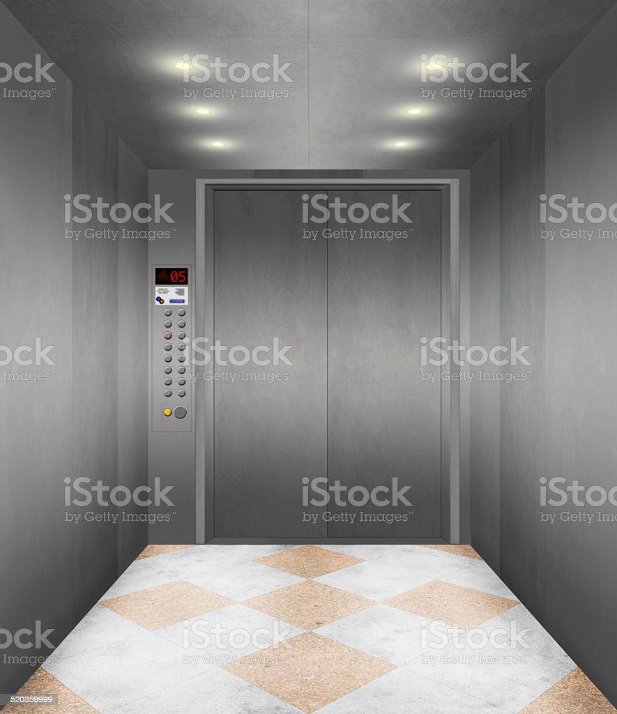 Moderne Aufzug innen – Foto