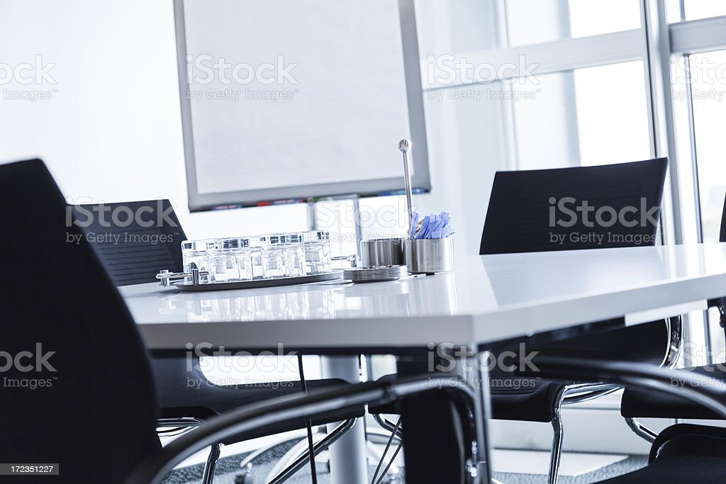Modern Empty Conference Room royalty-free stock photo