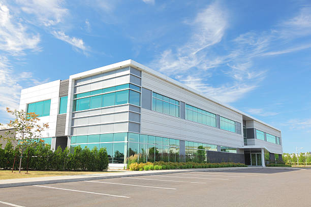 Modern Entreprise Building  entreprise stock pictures, royalty-free photos & images
