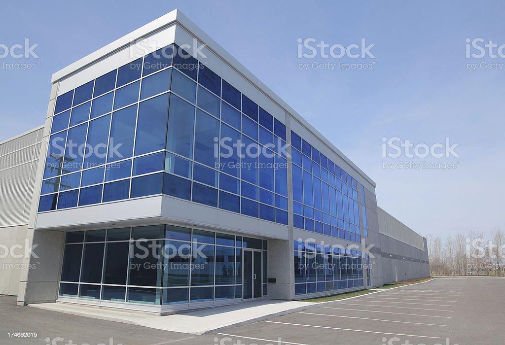 Modern Entreprise Exterior royalty-free stock photo