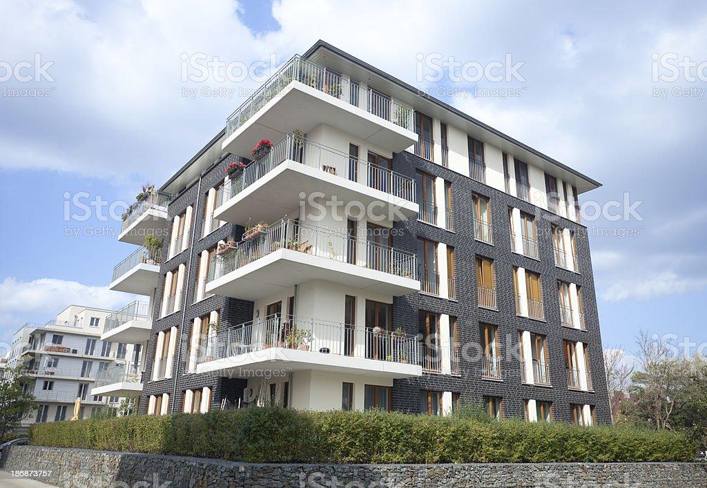 Modern executive apartments royalty-free stock photo