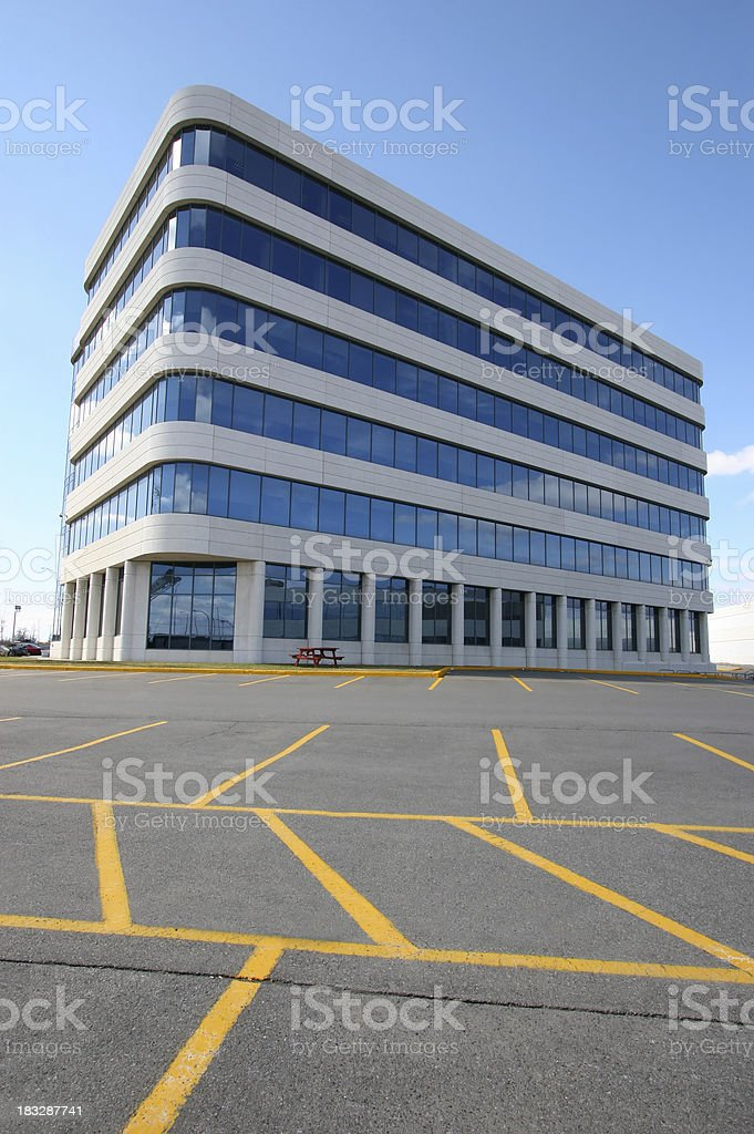 Modern Executive Offices royalty-free stock photo