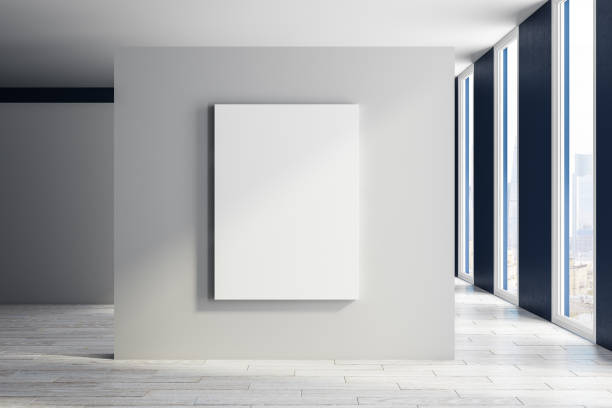Moderne Halle mit poster – Foto