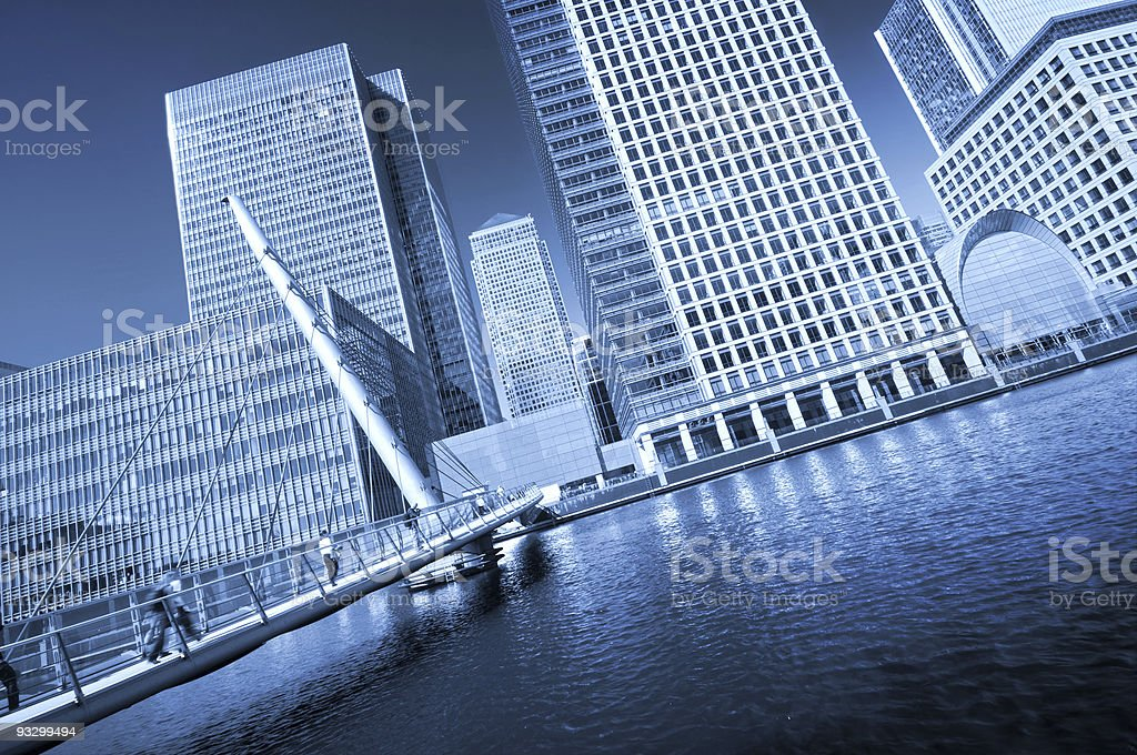 Modern face of London. royalty-free stock photo
