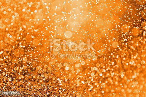 istock Modern Fall Thanksgiving or Halloween Gala Background 836698622
