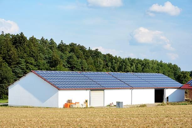 Moderne farm – Foto