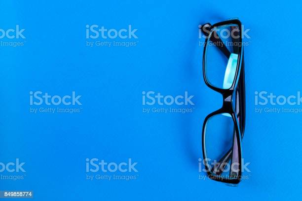 Modern fashionable and office spectacles on blue background perfect picture id849858774?b=1&k=6&m=849858774&s=612x612&h=6kqbyycniqsfqwbnkiw8mf yora4oq6o q dk8awrh8=