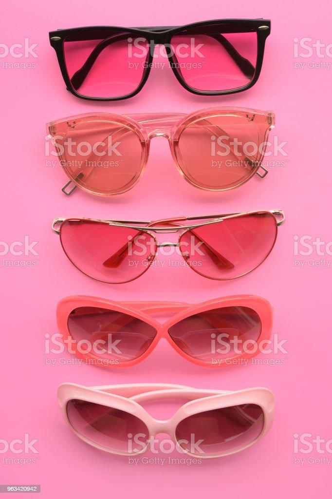 Lunettes de soleil à la mode modernes - Photo de A la mode libre de droits