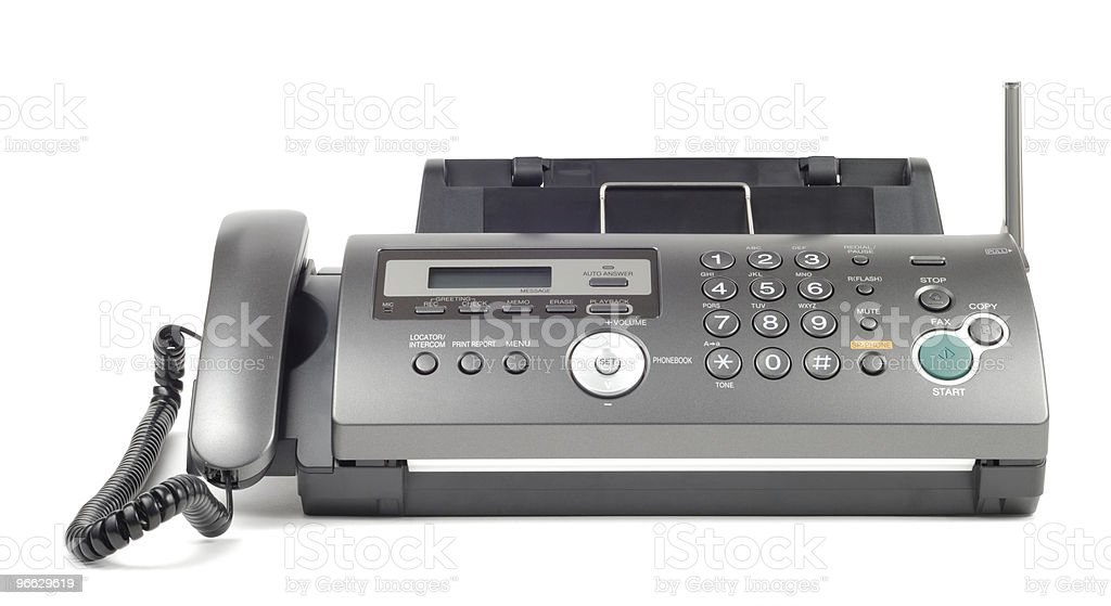 modern fax stock photo more pictures of close up istock