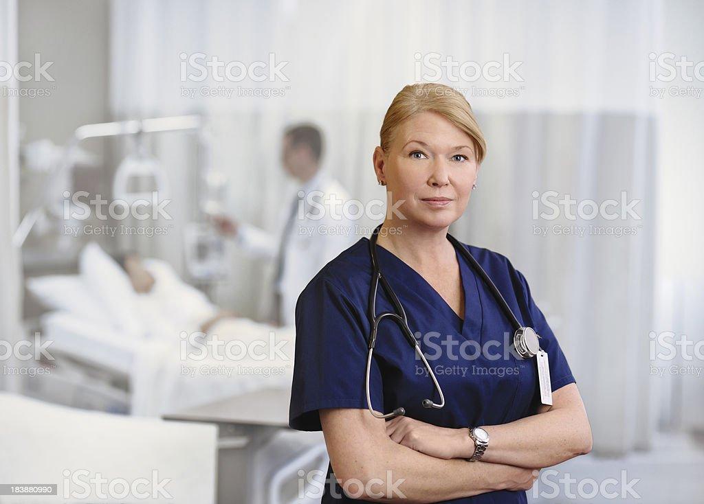 Modern female doctor royalty-free stock photo