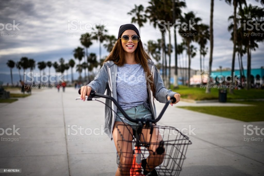 Modern female stock photo